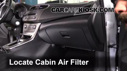 2013 Nissan Sentra SV 1.8L 4 Cyl. Air Filter (Cabin)