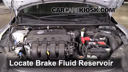 2013 Nissan Sentra SV 1.8L 4 Cyl. Brake Fluid