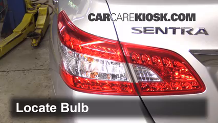 2013 Nissan Sentra SV 1.8L 4 Cyl. Lights