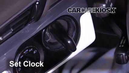 2013 Porsche 911 Carrera S 3.8L 6 Cyl. Coupe Clock