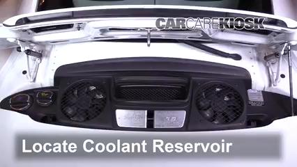 2013 Porsche 911 Carrera S 3.8L 6 Cyl. Coupe Coolant (Antifreeze)