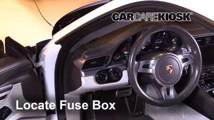 2013 Porsche 911 Carrera S 3.8L 6 Cyl. Coupe Fuse (Interior)