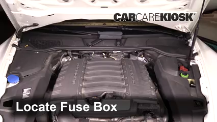 2013 Porsche Cayenne 3.6L V6 Fusible (motor)