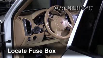 2013 Porsche Cayenne 3.6L V6 Fusible (interior)