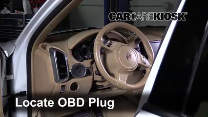 2013 Porsche Cayenne 3.6L V6 Compruebe la luz del motor