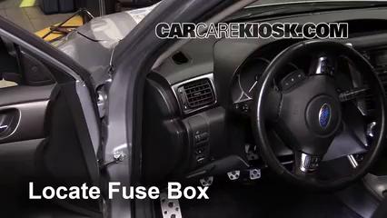 2013 Subaru Impreza WRX 2.5L 4 Cyl. Turbo Wagon Fuse (Interior)