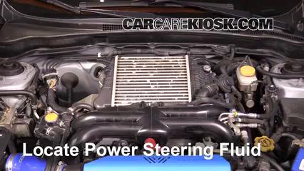 2013 Subaru Impreza WRX 2.5L 4 Cyl. Turbo Wagon Power Steering Fluid