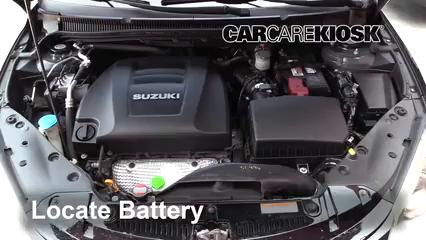 2013 Suzuki Kizashi GTS 2.4L 4 Cyl. Batería