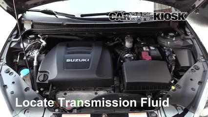 2013 Suzuki Kizashi GTS 2.4L 4 Cyl. Líquido de transmisión