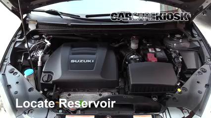 2013 Suzuki Kizashi GTS 2.4L 4 Cyl. Líquido limpiaparabrisas