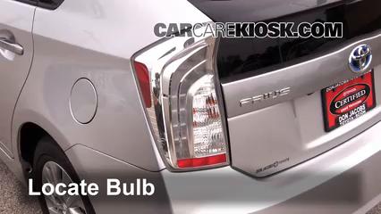 2013 Toyota Prius Plug-In 1.8L 4 Cyl. Lights Brake Light (replace bulb)
