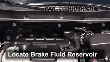 2013 Toyota RAV4 Limited 2.5L 4 Cyl. Brake Fluid