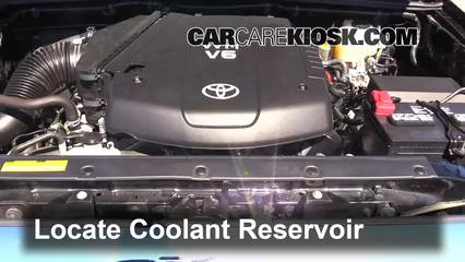 2013 Toyota Tacoma 4.0L V6 Crew Cab Pickup Pérdidas de líquido
