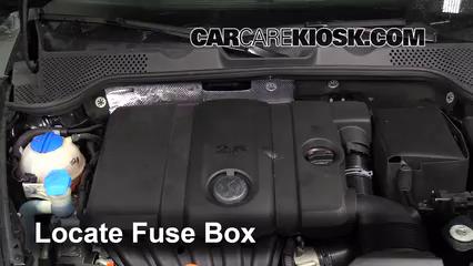 2013 Volkswagen Beetle 2.5L 5 Cyl. Convertible (2 Door) Fusible (motor) Control