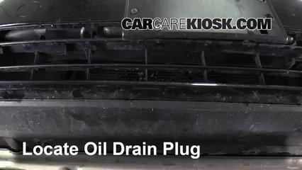 2013 Volkswagen Beetle 2.5L 5 Cyl. Convertible (2 Door) Aceite Cambiar aceite y filtro de aceite