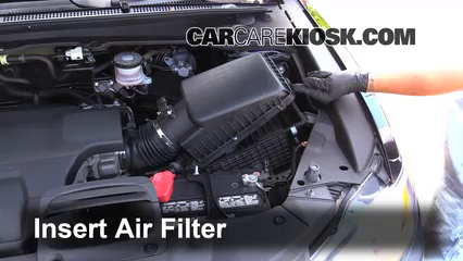 Air Filter HowTo Acura RDX Acura RDX L V - Acura mdx air filter