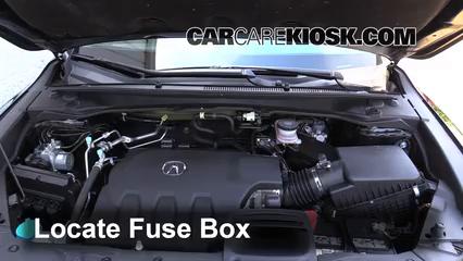 Replace a Fuse: 2013-2018 Acura RDX - 2014 Acura RDX 3.5L V6 on