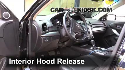 Acura Rdx L V Fopen Hood