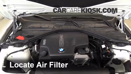 Air Filter HowTo BMW I BMW I L Cyl - Bmw 320 engine