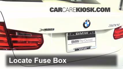 Interior Fuse Box Location: 2012-2017 BMW 320i - 2014 BMW 320i 2.0L ...