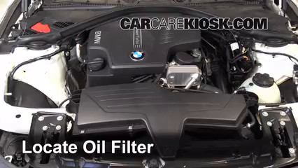 Oil Filter Change BMW I BMW I L - 2014 bmw 325i