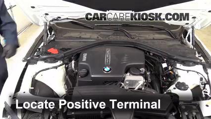 How to Jumpstart a 2012-2019 BMW 320i - 2014 BMW 320i 2 0L 4 Cyl  Turbo