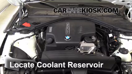 How to Add Coolant: BMW 320i (2012-2019) - 2014 BMW 320i 2.0L 4 Cyl. Turbo