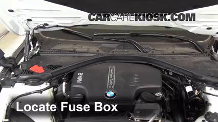bmw 320i fuse box location wiring block diagram 1999 BMW Fuse Box Location replace a fuse 2012 2017 bmw 320i 2014 bmw 320i 2 0l 4 cyl turbo bmw 2003 x 5 fuse box location bmw 320i fuse box location