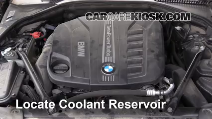2014 BMW 535d xDrive 3.0L 6 Cyl. Turbo Diesel Coolant (Antifreeze)
