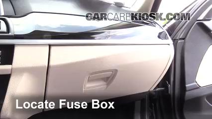 Interior Fuse Box Location: 2010-2017 BMW 535d xDrive - 2014 BMW ...