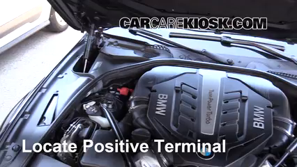 How To Jumpstart A 2013 2017 Bmw 650i Xdrive Gran Coupe 2014 Bmw