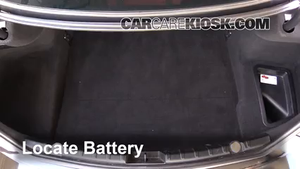 2014 BMW 650i xDrive Gran Coupe 4.4L V8 Turbo Battery
