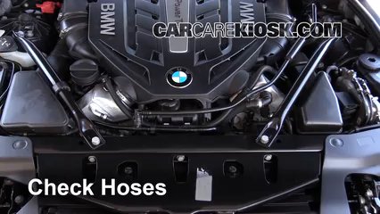 2014 BMW 650i xDrive Gran Coupe 4.4L V8 Turbo Hoses
