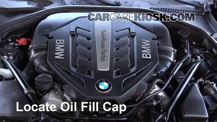 2014 BMW 650i xDrive Gran Coupe 4.4L V8 Turbo Oil
