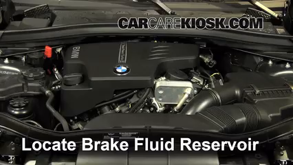 2014 BMW X1 xDrive28i 2.0L 4 Cyl. Turbo Brake Fluid