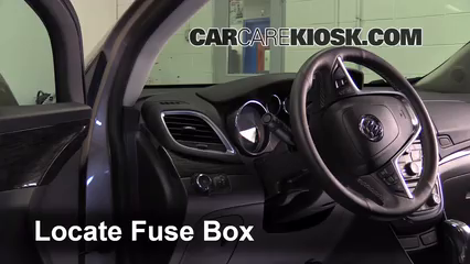 2013 2016 Buick Encore Interior Fuse Check