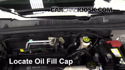 2014 Buick Encore 1.4L 4 Cyl. Turbo Oil