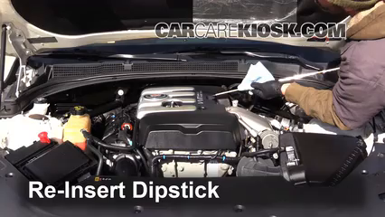 2013 Cadillac Ats 2 0 L Turbo >> Check Oil Level 2013-2019 Cadillac ATS - 2014 Cadillac ATS 2.0L 4 Cyl. Turbo