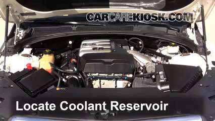 Coolant Level Check 2013 2018 Ats 2014 Cadillac Ats 2