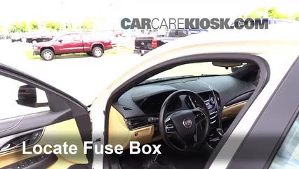 2014 Cadillac ATS 2.0L 4 Cyl. Turbo Fusible (interior)