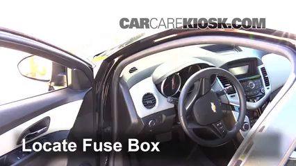 interior fuse box location 2011 2016 chevrolet cruze 20142014 chevrolet cruze ls 1 8l 4 cyl sedan (4 door) fuse (