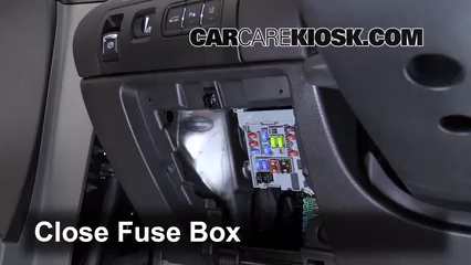 Interior Fuse Box Location: 2014-2019 Chevrolet Impala - 2014