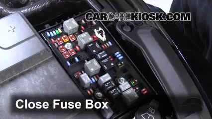 replace a fuse 2014 2016 chevrolet impala 2014