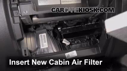 Cambio De Filtro De Aire Interior Chevrolet Silverado 1500