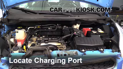 How to Add Refrigerant to a 2013-2015 Chevrolet Spark - 2014