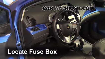 interior fuse box location 2013 2015 chevrolet spark 2014interior fuse box  location 2013 2015 chevrolet spark