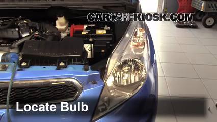 Headlight Change 2013 2015 Chevrolet Spark 2014