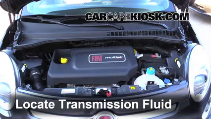 2014 Fiat 500L 1.4L 4 Cyl. Turbo Transmission Fluid Add Fluid