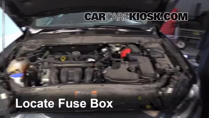 2014 Ford Fusion SE 2.5L 4 Cyl.%2FFuse Engine Part 1 blown fuse check 2013 2016 ford fusion 2014 ford fusion se 2 5l 2014 ford fusion hybrid fuse box at eliteediting.co