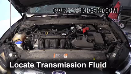 Transmission Fluid Level Check Ford Fusion 2013 2016 2014 Ford